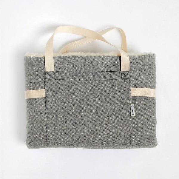 Rozkládací taška/deka pro psa Cloud7 L Tweed