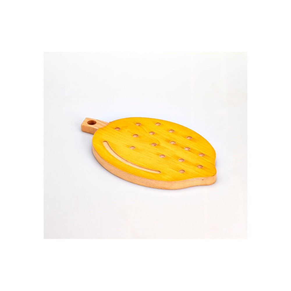 Bukové krájecí prkénko Bisetti Lemon