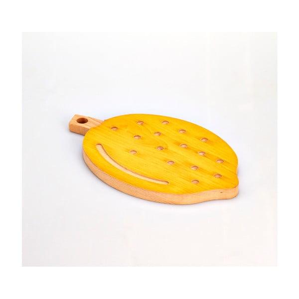 Lemon bükkfa vágódeszka, 21 x 34 cm - Bisetti