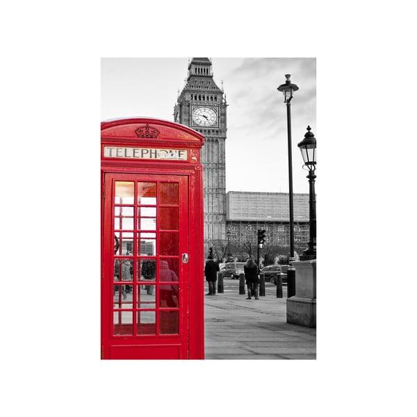 Obraz V Londýně , 45x70 cm