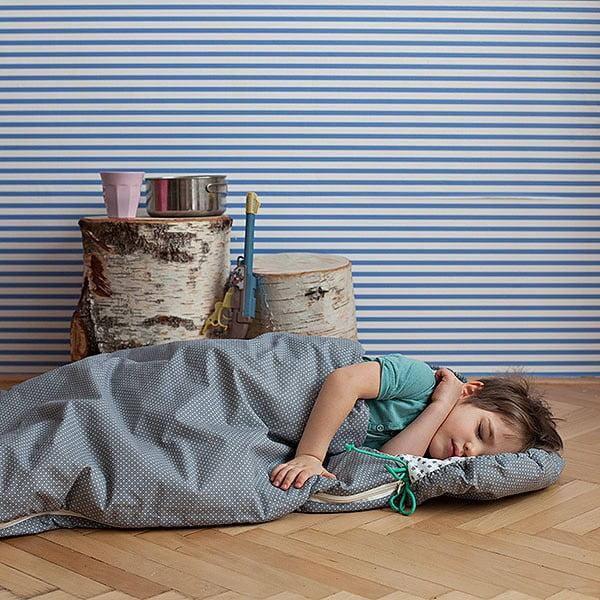 Gyerek hálózsák, csillagos motívummal, 70 x 165 cm - Bartex Design