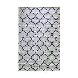Šedý vysoce odolný koberec Floorita Trellis Grey, 194 x 290 cm