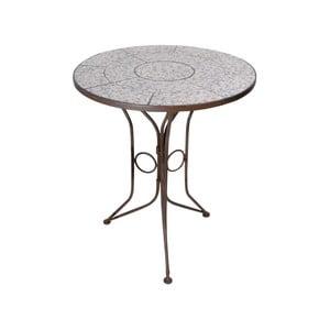 Kulatý stolek s keramickou deskou Ego Dekor