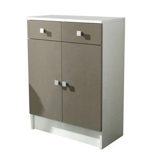 Béžová koupelnová skříňka 13CasaClick