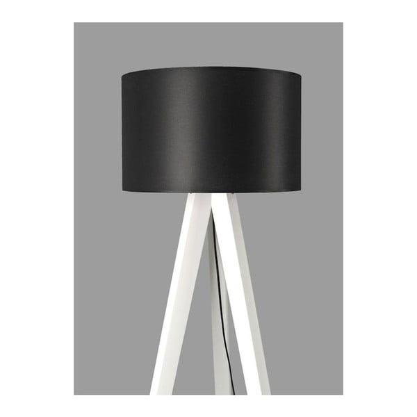 Stojací lampa Tripod Black/White