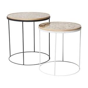 Sada 2 odkládacích stolků Kare Design Ciocco