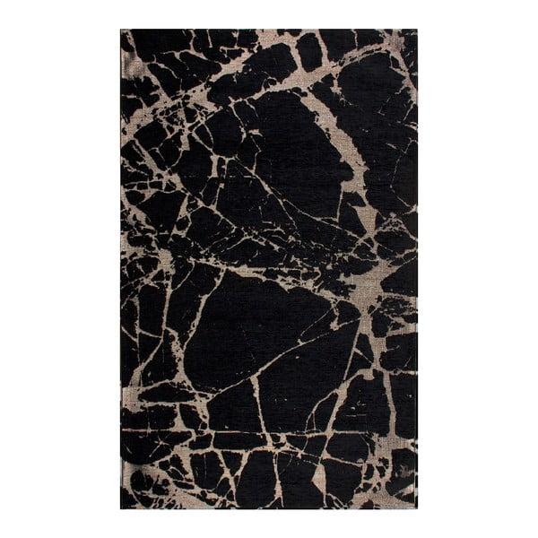 Běhoun Eco Rugs Gold Marble, 80x300cm