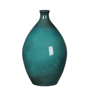 Zelená váza Mica Mary, 33x20cm