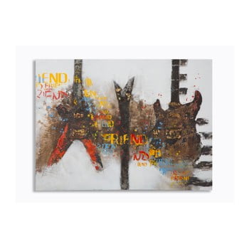 Tablou Mauro Ferretti Guitars Art, 120 x 90 cm