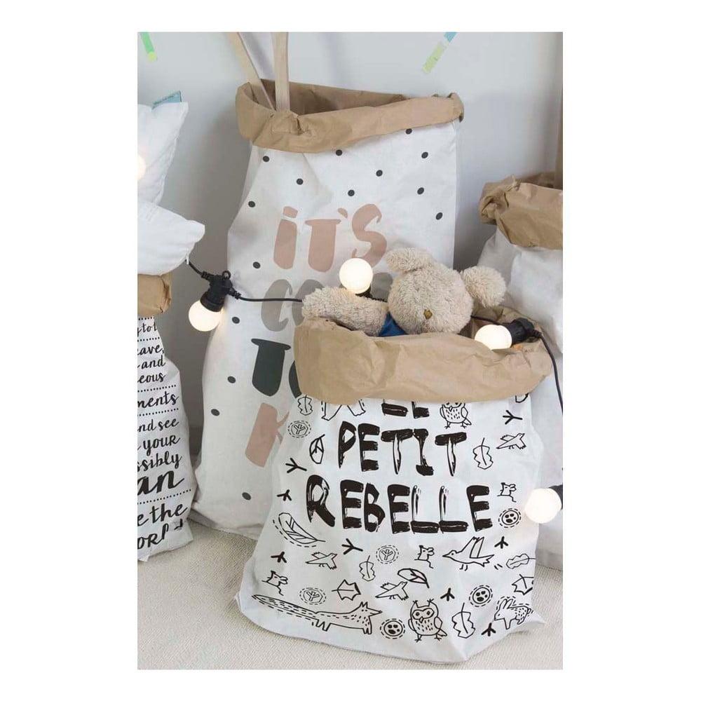 sac din h rtie little nice things rebel bonami. Black Bedroom Furniture Sets. Home Design Ideas