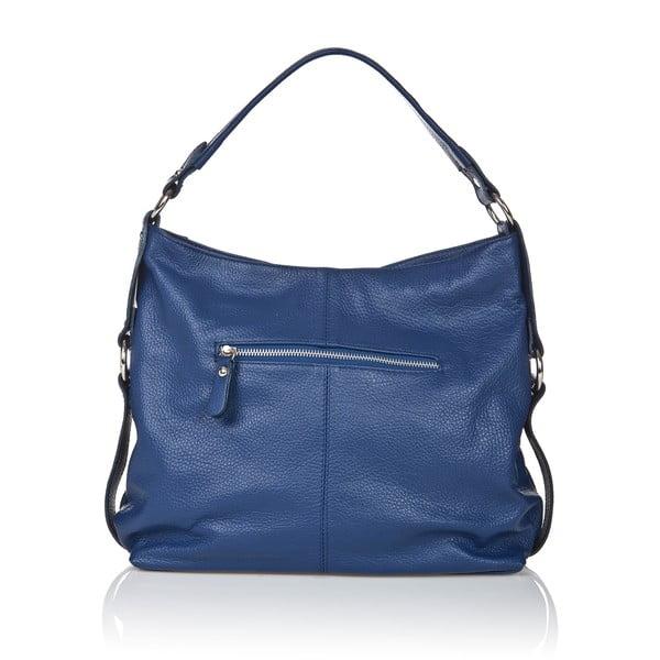 Modrá kožená kabelka Giorgio Costa Sissala