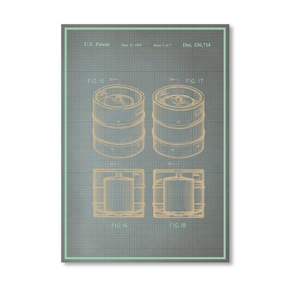 Plakát Keg II, 30x42 cm