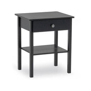 Šedý dřevěný noční stolek VIDA Living Willow