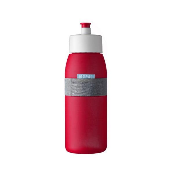 Červená sportovní lahev Rosti Mepal Ellipse, 500ml