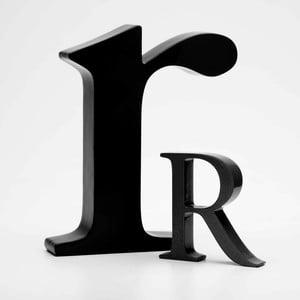 """Malé """"r"""" 17x14 cm, černá"""