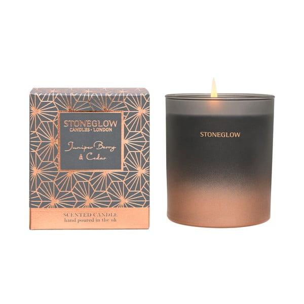 Svíčka s vůní jalovce a cedru Stoneglow