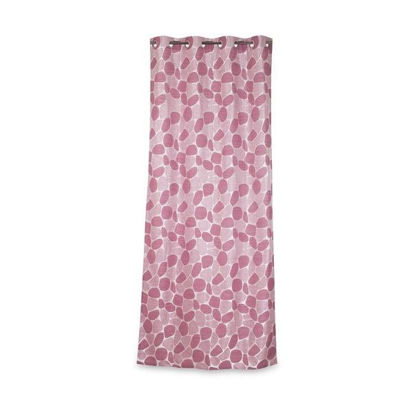 Závěs Galet Rose, 135x270 cm
