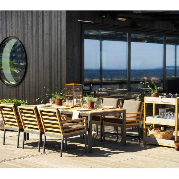 Zahradní stolek Brafab Zalongo, 150x60cm