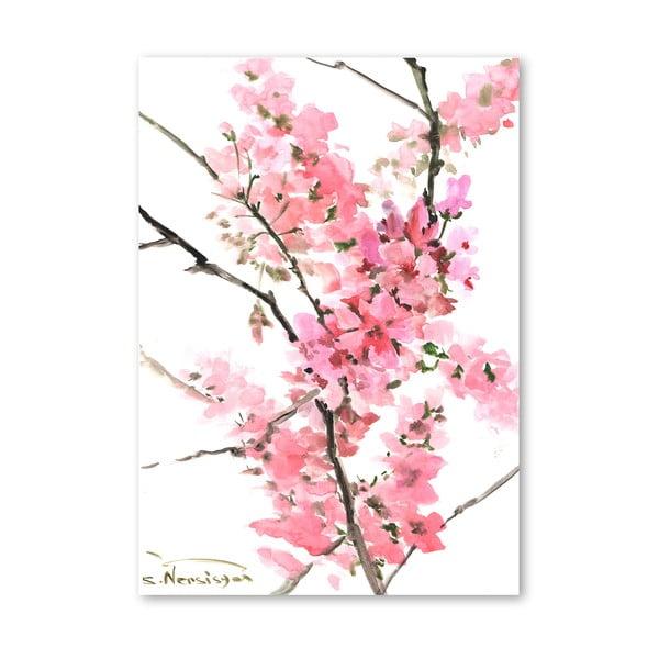 Plakát Flowers Pink od Suren Nersisyan