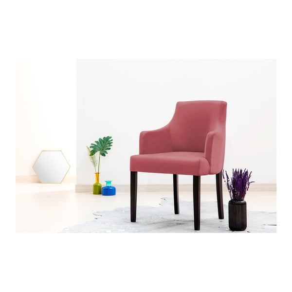 Sada 2 tmavě růžových židlí Vivonita Reese