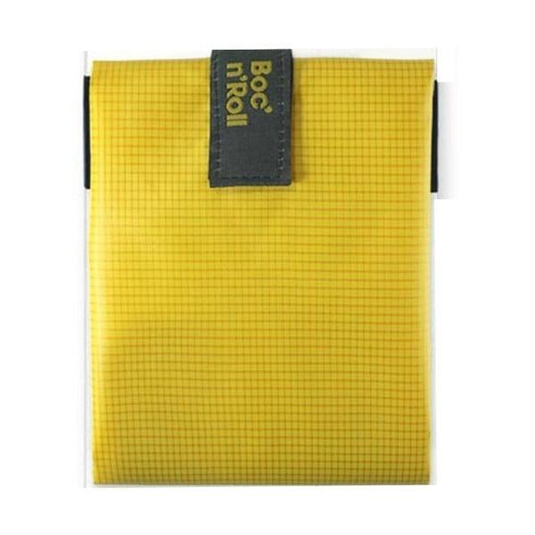 Svačinová kapsa Boc'n'Roll SQ, žlutá