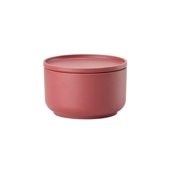 Červená servírovacia miska s vekom Zone Peili, ⌀ 12 cm