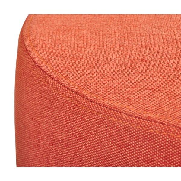 Oranžová stolička Garageeight Molde s odnímatelným vrškem, velikost S