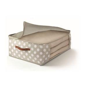 Béžový uložný box na přikrývky Cosatto Jolie,45x45cm