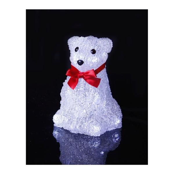 Svítící dekorace Crystal Polarbear