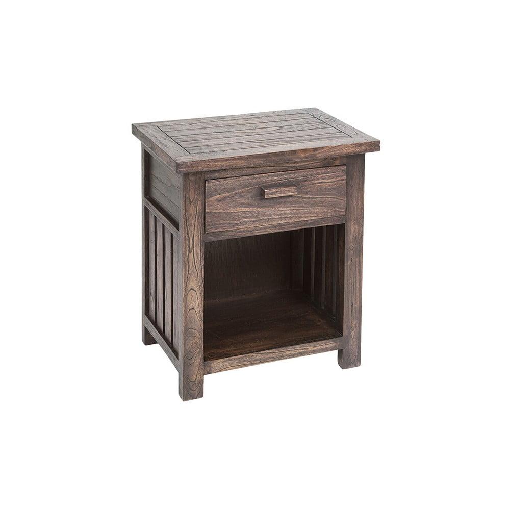Noční stolek ze dřeva mindi Santiago Pons Antalia