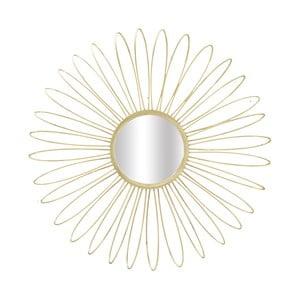 Nástěnné zrcadlo ve zlaté barvě Mauro Ferretti Daisy