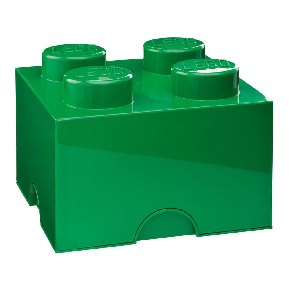 Zelená úložná kostka LEGO®