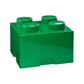 Cutie depozitare LEGO®, verde de la LEGO®