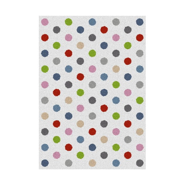 Covor Universal Norge White Dots, 160 x 230 cm