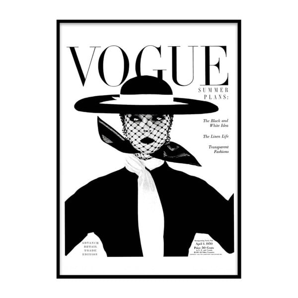 Poster cu ramă Piacenza Art Vogue, 30 x 20 cm