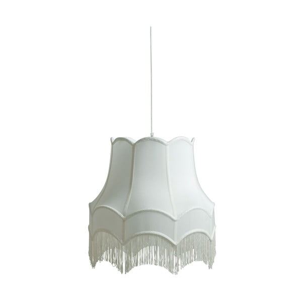 Závěsná lampa Fringe, white