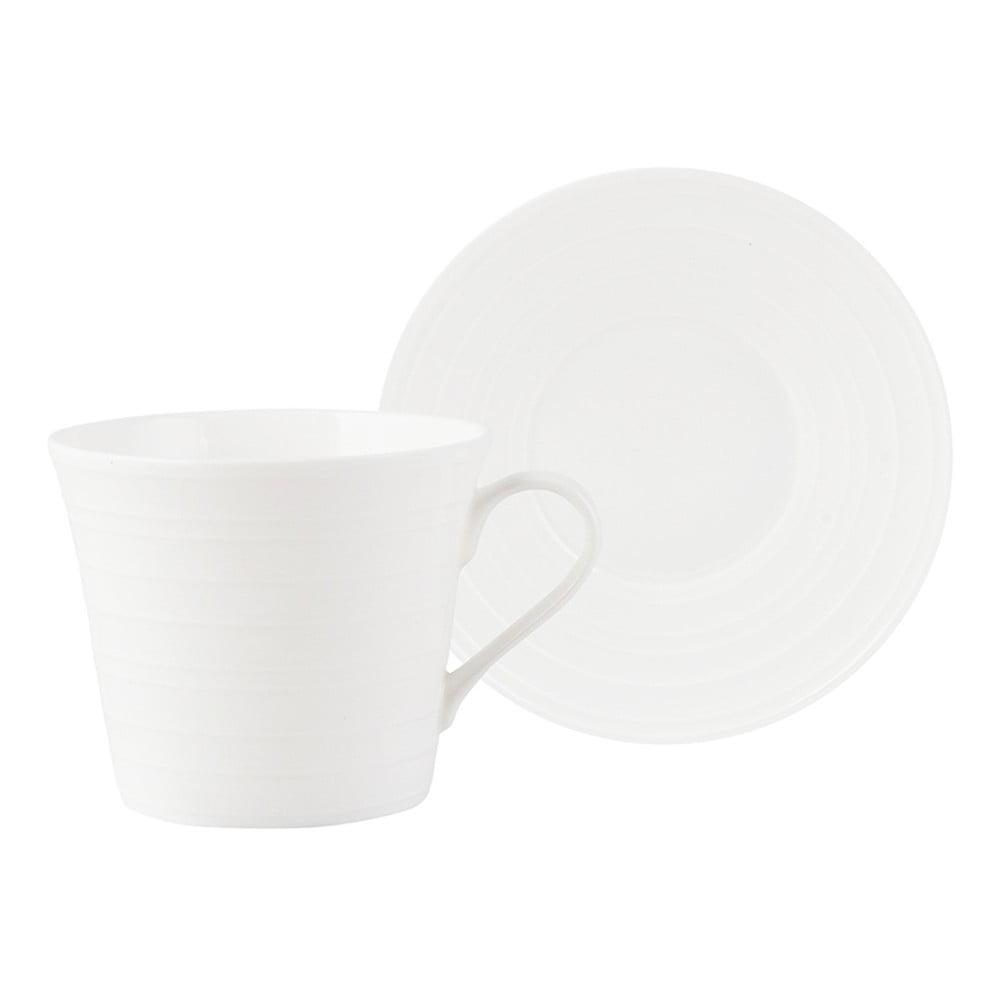 Porcelánový šálek s podšálkem Creative Tops Mikasa Ciara