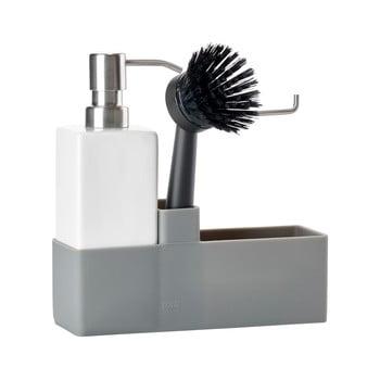 Set pentru spălat vase Zone Trio, alb - gri imagine