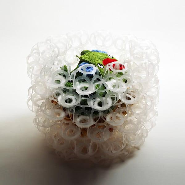 Bubble mísa z 81 větších dílů