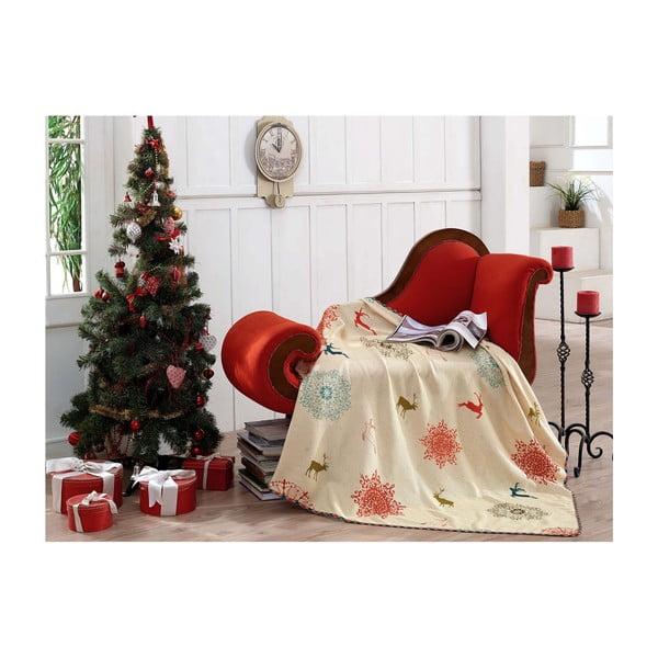 Vánoční deka Xmas Tina, 125x150cm