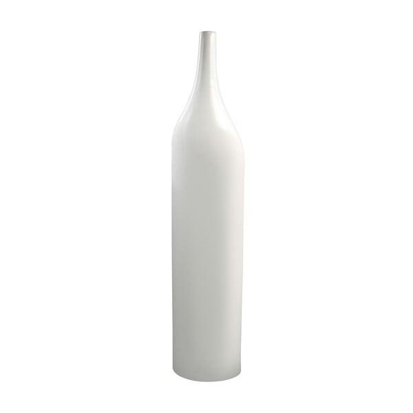 Váza Bottle, 58 cm, bílá