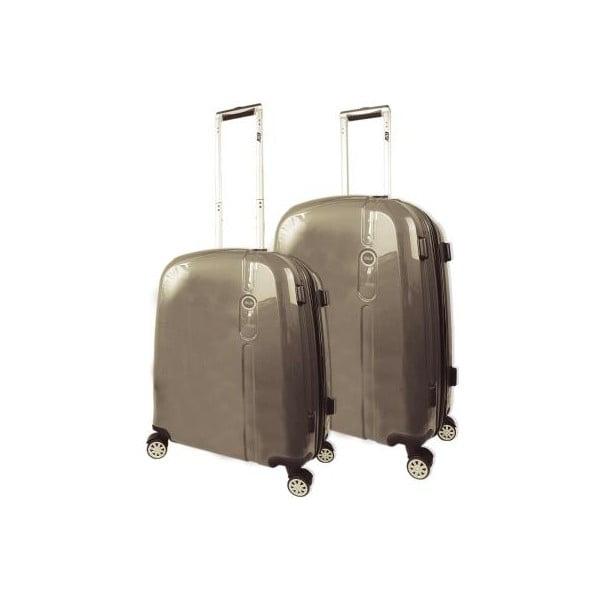 Set 2 cestovních kufrů Victorio Champagne