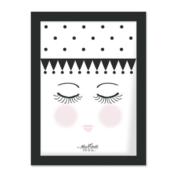 Plakát v rámu Eyes and Dots, 30x40 cm