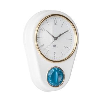 Ceas și cronometru pentru bucătărie PT LIVING, alb de la PT LIVING