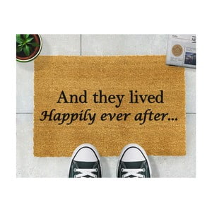 Covor intrare Artsy Doormats Happily Ever After, 40 x 60 cm