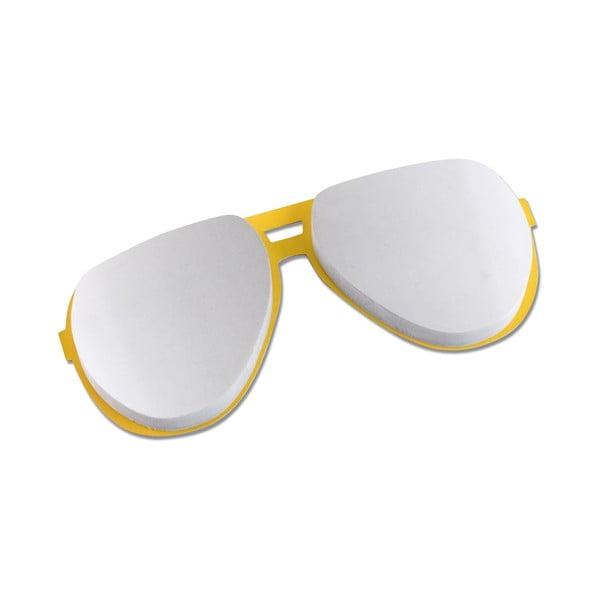 Bloczek w kształcie okularów Thinking gifts Elvis