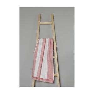 Růžovo-bílý bavlněný ručník My Home Plus Spa, 50 x 90 cm