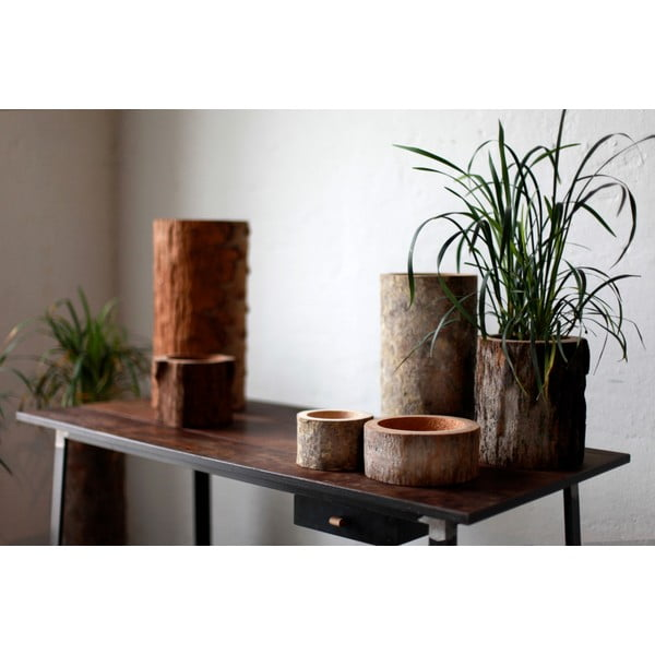 Palmová váza Wood, Caspo, 35 cm
