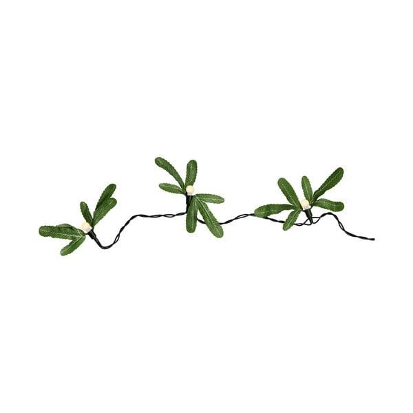 Světelný řetěz Green Leaves