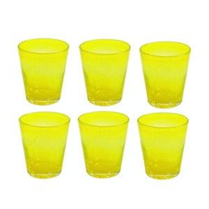 Sada 6 skleniček Aqua Giallo, 300ml